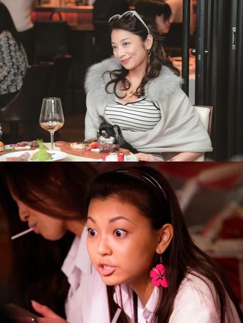 裕子役 現代(上):小池栄子 90年代(下):野田美桜