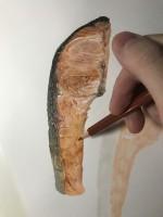 紅鮭 制作過程