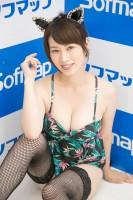 『サンクプロジェクト×ソフマップ』コスプレイヤー・奥田咲さん<br>(ねこ)