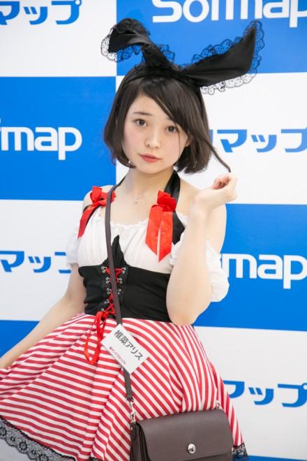 『サンクプロジェクト×ソフマップ』コスプレイヤー・椎菜アリスさん<br>(『アリスとうさぎ』アリス)