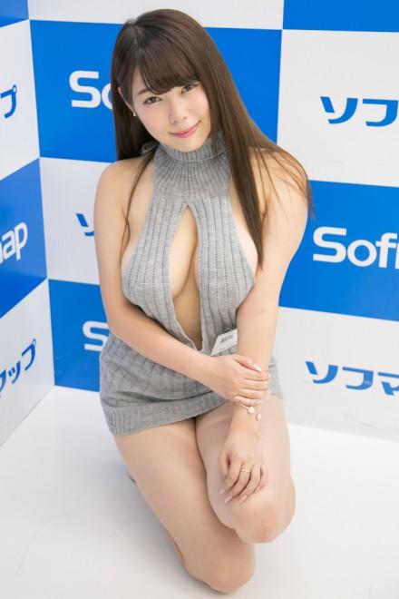 『サンクプロジェクト×ソフマップ』コスプレイヤー・結城ちかさん<br>(童貞を殺すセーター)