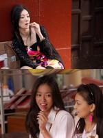 映画『SUNNY 強い気持ち・強い愛』心役 現代(上):ともさかりえ 90年代(下):田辺桃子
