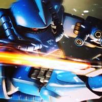 ファースト世代の憧れ、ランバ・ラルが駆る「グフ」/制作:tsuta772