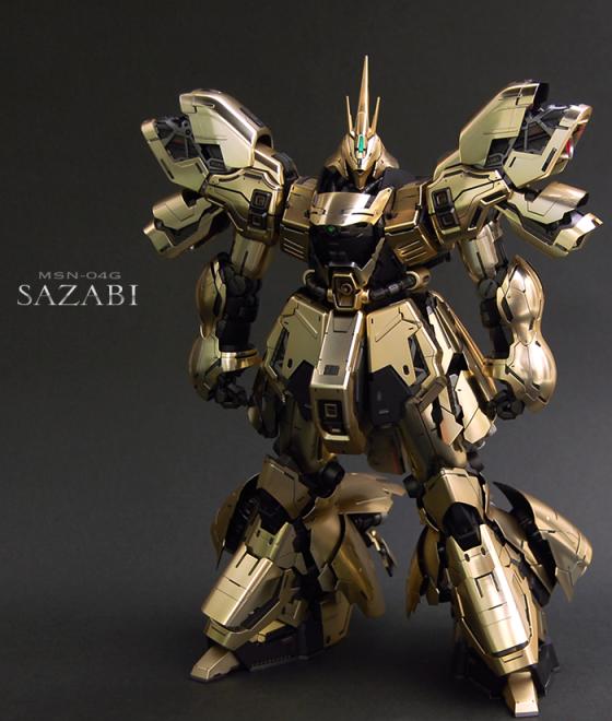 MG サザビー Ver.Ka 【GBWC2013ゴールドトロフィーVer.】制作:シュン