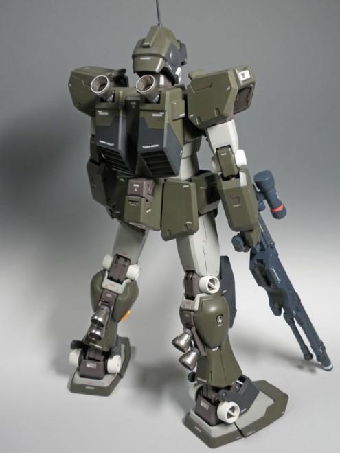『機動戦士ガンダム』1/60 ジムスナイパーカスタム(※1/60 PGガンダムの改造)制作:市川貴秀