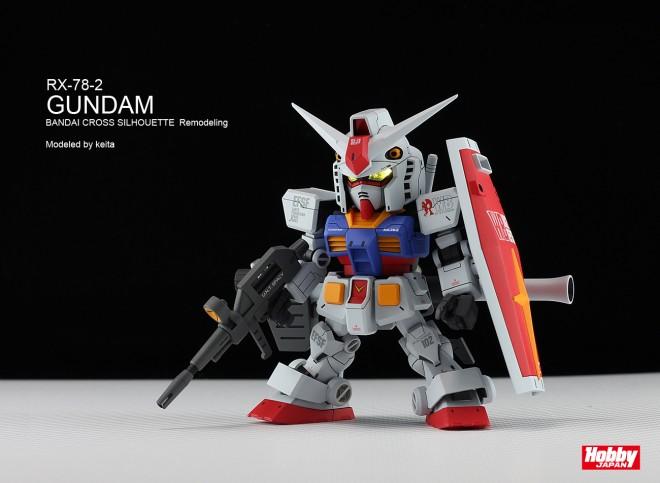 作品名:RX-78-2 GUNDAM 制作:keita  協力:ホビージャパン