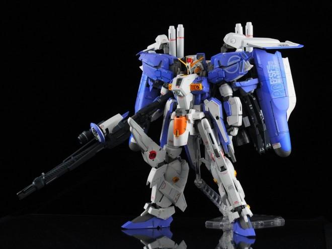作品名:MSA-0011[Ext] Ex-S ガンダム 製作:kenichiro16w