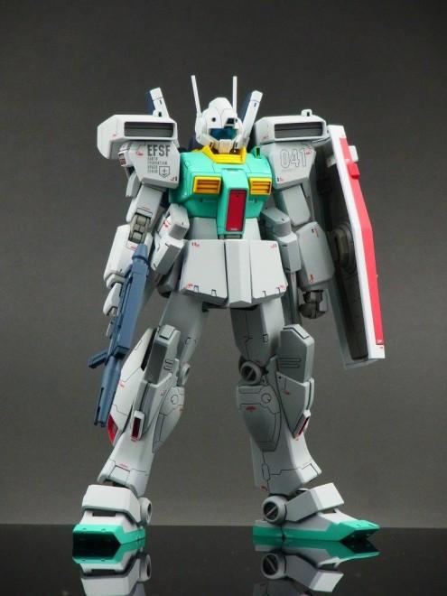 作品名:RGM-86R ジム�V 製作:kenichiro16w