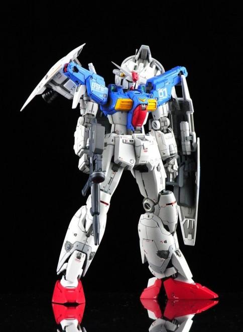 作品名:RX-78ガンダムGP01Fb フルバーニアン 製作:kenichiro16w