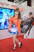 『東京ゲームショウ2018(TGS)』コスプレイヤー・ふれいあさん (『百姫退魔』狐女)