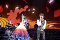 9月24日に東京ドームで開催された『KING SUPER LIVE 2018』の模様 水樹奈々×宮野真守