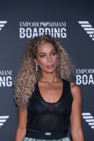 2018年9月20日21時半(ミラノ時間)に行われたジョルジオ・アルマーニのイベント「Emporio Armani Boarding」でキャッチしたセレブたち