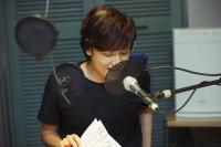 TBSラジオ『井上芳雄 by MYSELF』スタジオ風景
