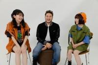 (左から)久間田琳加、ジョナス・ブルー、吉田凜音