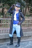 『acosta!(アコスタ)@池袋サンシャインシティ 10月7日・8日開催』コスプレイヤー・梨子さん<br>(『ONE PIECE』サボ)