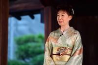 アンバサダーとしてオープニングセレモニーに出席した三田佳子