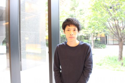 「後払いガチャ」の発案者で開発者であるふんどしパレードの山田裕希さん Twitter:@_yhiroki