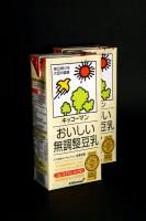 おいしい無調整豆乳の空パックが…→