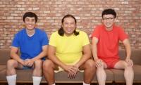 1998年結成、ロバ—トの3人。山本博(左)、秋山竜次(中)、馬場裕之(右)