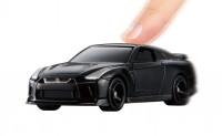 『トミカ4D 02 日産 GT-R メテオフレークブラックパール』(税抜1600円)