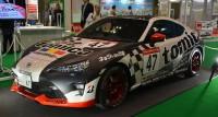 『第45回東京モーターショー2017』に登場した、蒲生尚弥選手が実際に乗る本物の「トミカネッツ兵庫BS86B トヨタ86」/タカラトミーのトミカブースにて (C)oricon ME inc.