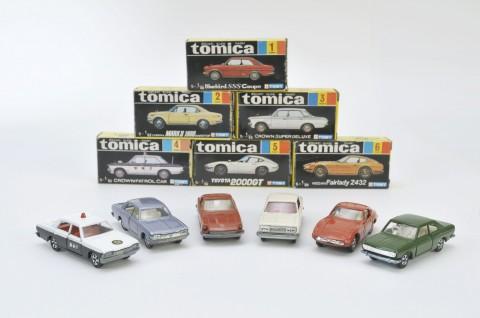 この6台から「トミカ」の歴史は始まった(C)TOMY
