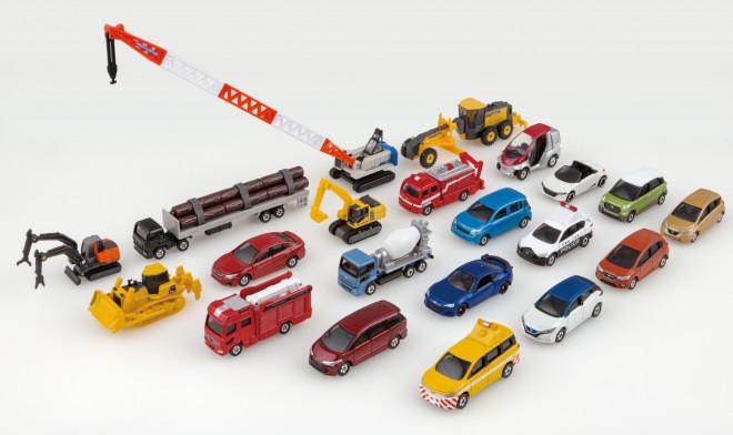 パトカーや消防車などの働く車が人気の「トミカ」