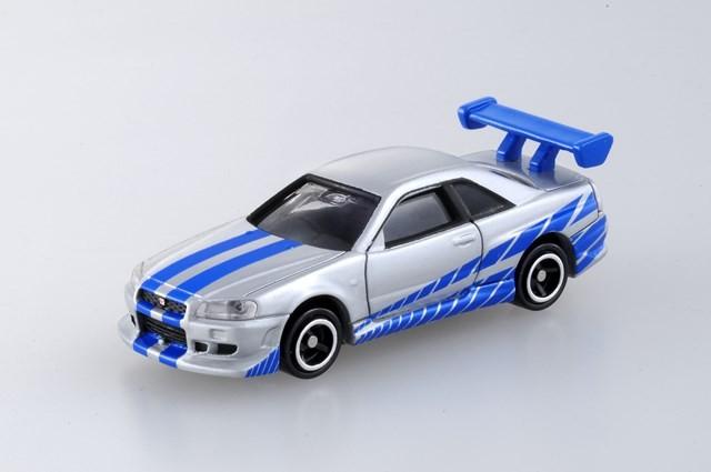 『No.150 ワイルド・スピード BNR34 スカイライン GT-R』(税抜700円)(C) TOMY TM & (C) Universal Studios