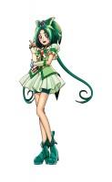 「安らぎの緑の大地、キュアミント!」(Yes!プリキュア5)