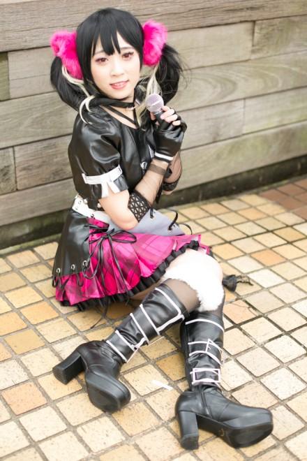 『池袋ハロウィンコスプレフェス2018(池ハロ)』コスプレイヤー・Sanakaさん<br>(『ラブライブ!』矢澤にこ)