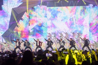 BTSの圧巻のパフォーマンス (C)MUSIC ON TV!