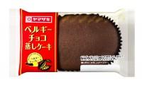 『北海道チーズ蒸しケーキ』とは別シリーズの『ベルギーチョコ蒸しケーキ』