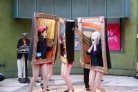 ハロウィン・アワード2018」ベスト・パンプキン賞(グランプリ)タイトル:ハロウィンパーティに来た絵画達!