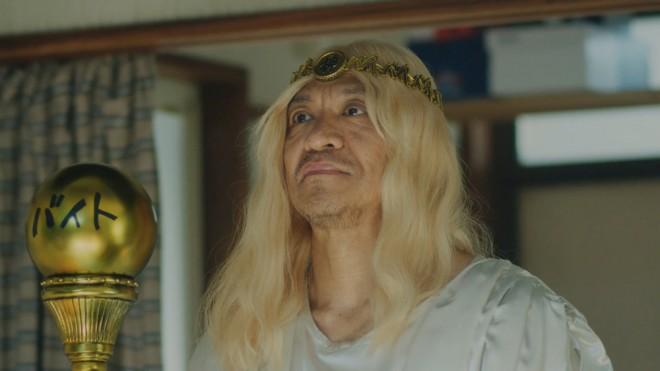 山本舞香の絡みにたじろいでしまう松本人志演じる「バイトの神様」