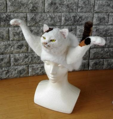 猫かぶり帽