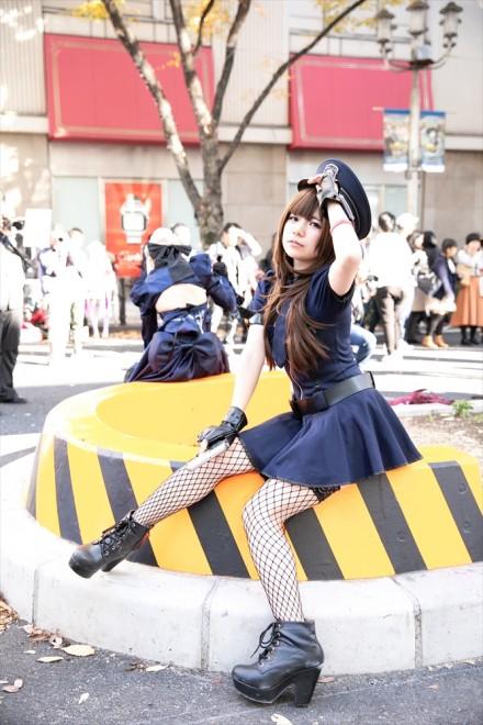 『ホココス2018秋』コスプレイヤー・天宮愛音さん<br>(オリジナル衣装:ポリス)