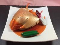 ガンプラお惣菜「グラブロの煮付け」(C)創通・サンライズ