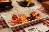 ガンプラお惣菜「グワジンのお造り」(C)創通・サンライズ