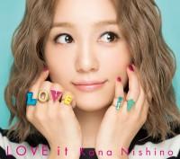 西野カナの7thアルバム「LOVE it」(初回盤)