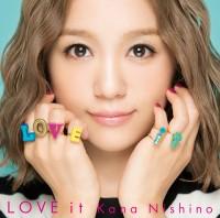 西野カナの7thアルバム「LOVE it」(通常盤)