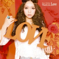 西野カナの3rdアルバム「Thank you, Love」初回盤(2011年6月22日発売)