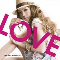 西野カナの1stアルバム「LOVE one.」初回盤(2009年6月24日発売)