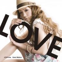 西野カナの1stアルバム「LOVE one.」通常盤(2009年6月24日発売)