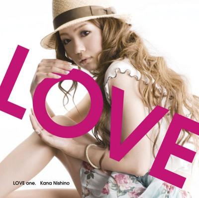 1stアルバム「LOVE one.」(2009年6月24日)