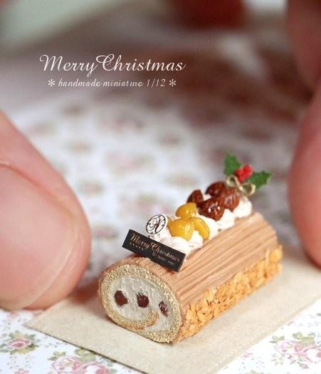 【クリスマスケーキ】制作:Nunu's House(田中智)