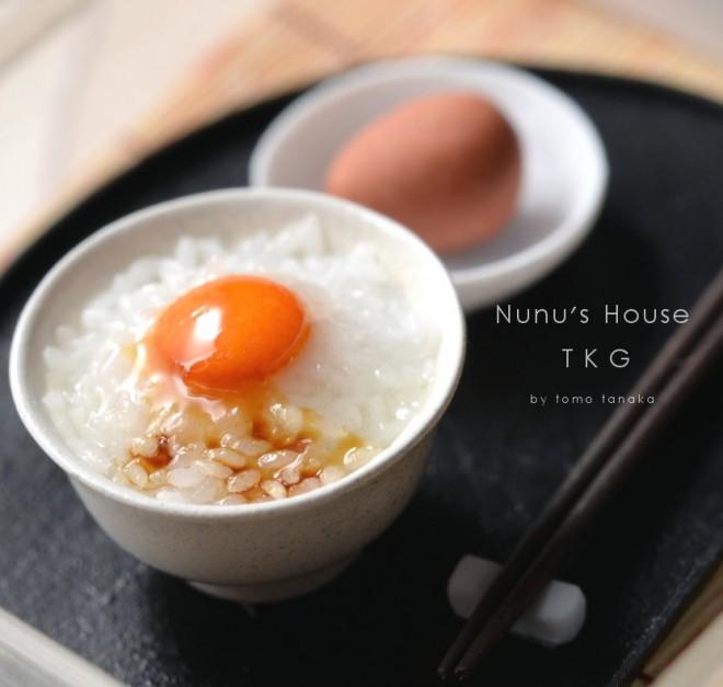 【卵かけごはん】制作:Nunu's House(田中智)