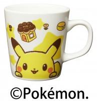 『misdo Pok?mon ウィンターコレクション』より『ミスド ポケモン オリジナルマグカップ(おかお)』