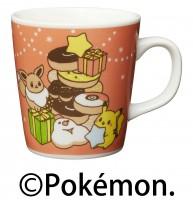 『misdo Pok?mon ウィンターコレクション』より『ミスド ポケモン オリジナルマグカップ(パーティー)』