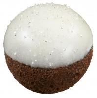 「ドーナツポップ」もクリスマス仕様に『ホワイトスノーチョコレートボール』(税込37円)