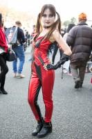 『東京コミコン2018』ハーレイ・クインのコスプレイヤー
